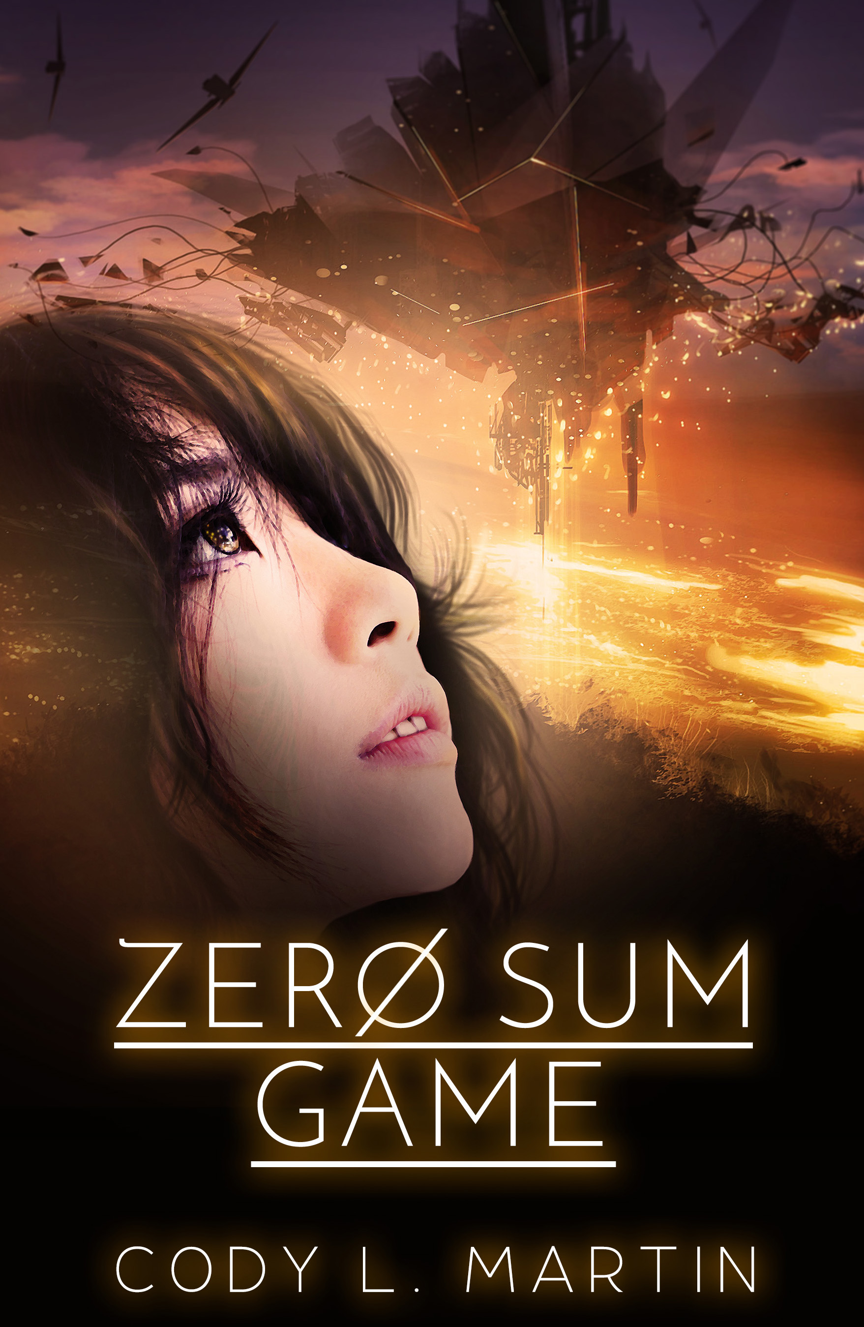 """Zero Sum Game"""" – Science Fiction Adventure in a Japanese setting"""